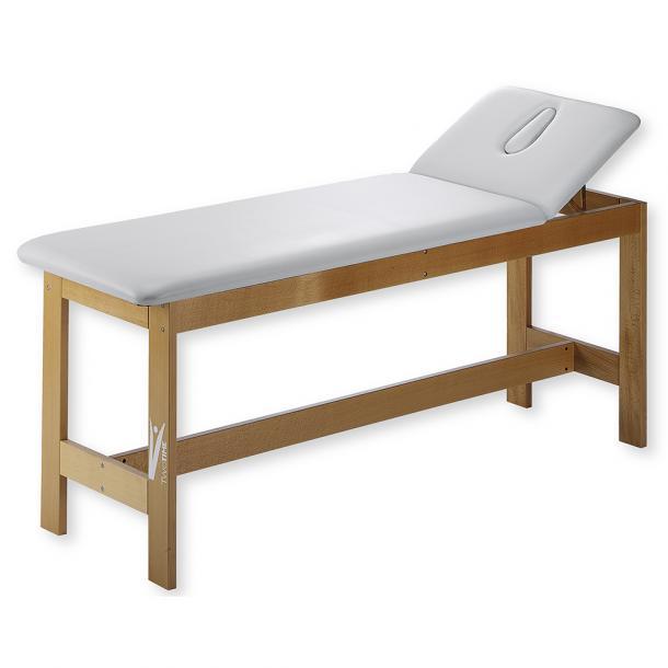 Vendita schiavi letto massaggio fisso a 2 sezioni rinforzato fitness di bosi - Letto da massaggio ...