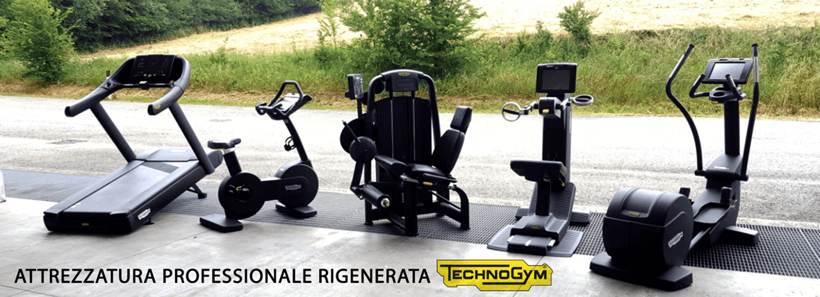 Technogym rigenerata black